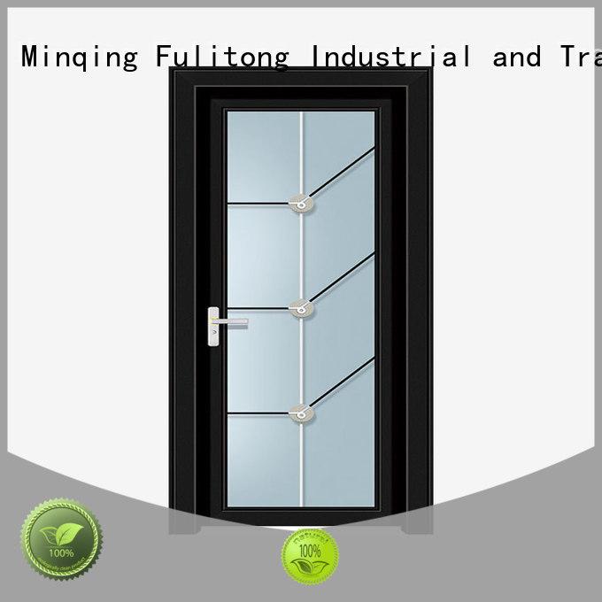 Best Aluminum Door Design Wholesale For Bathroom Fulitong